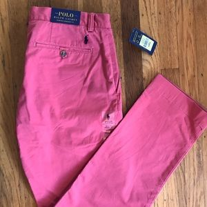 Polo Ralph Lauren Red Wash Jeans